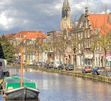 Vermeer and porcelain in quaint Dutch city