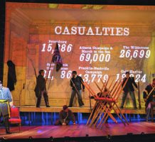 Civil War musical aims to please too well