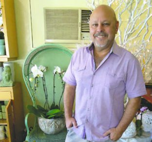Gay weddings are booming beacon event planner gregory goodman is pictured at his store my little flower shop in palm springs at his own wedding there was a fiddler on the roof sort mightylinksfo