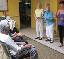 Tapping into a need during memory loss