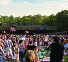 The stars come out for Merriweather's 50th