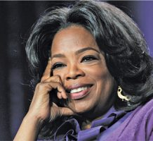 Helping others brings recognition from Oprah
