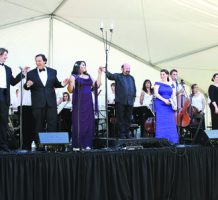 Two free concerts draw opera fans to parks
