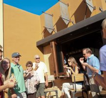 Sites, sights and delights on tasting tour