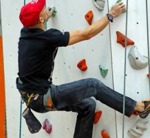 Climbers reach for new heights