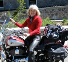 Finding freedom on two wheels