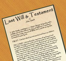 Wills provide peace of mind for the family