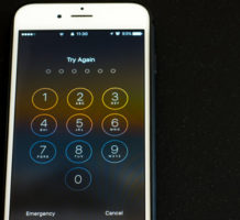 Lock your phone to prevent data breaches
