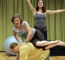 Studio play about theater mirrors real life