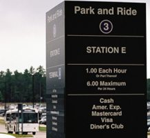 Parking your car near an airport for less