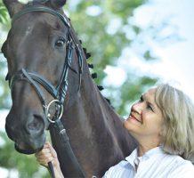 Breast cancer survivor back in the saddle