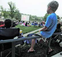 Free outdoor music and movies begin