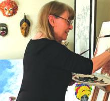 Artist retires, rekindles dream