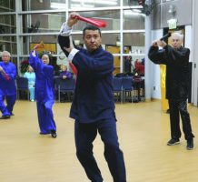 International tai chi champions