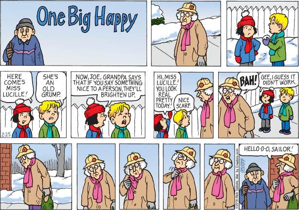 One Big Happy – 2/25/18