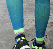 Compression stockings help leg swelling