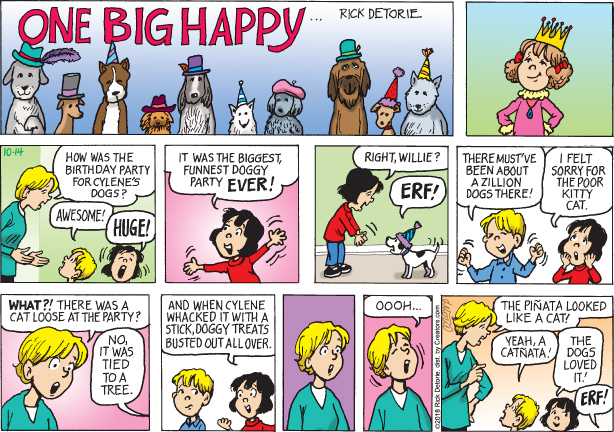 One Big Happy – 10/14/18