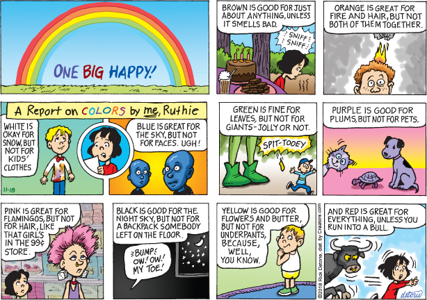 One Big Happy – 11/18/18