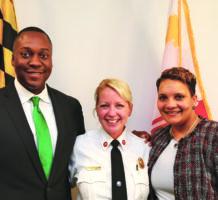 First women lead police & fire