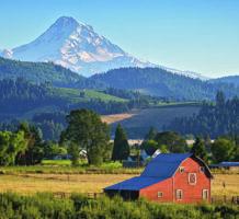 Scenic Oregon, unpretentious Portland