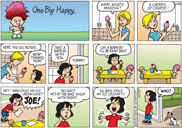 One Big Happy – 8/11/19