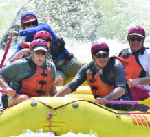 Riding the rapids of the Sierra Nevadas