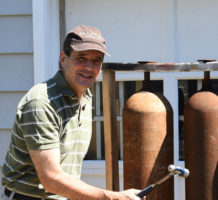 Sculptor found art after many careers