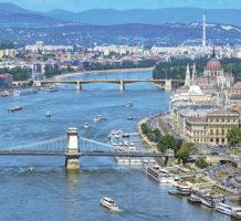 Visiting European capitals via the Danube