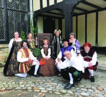 Dance club channels Elizabethan era