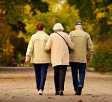 Happy retirees share socializing secrets