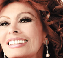 Sophia Loren comes to town