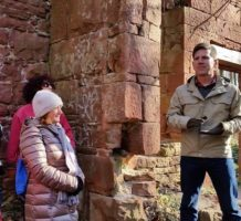 Author brings history to life with tours