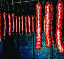 Smoky Louisiana sausage has its own trail