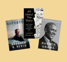 Memoirs from newsmaker, news writers