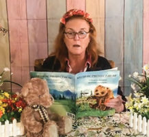 Local author gives back with each book