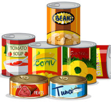 Choose the healthiest canned foods