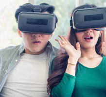 Try out Virtual Reality (VR) to help research