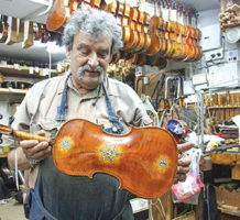 Historic violins tell stories of pain, hope