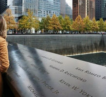 Three sites memorialize September 11th