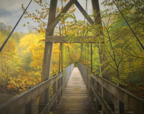 Fall Hike — Kenneth Bachman