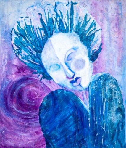 Blue Mood  — Sandra Davis
