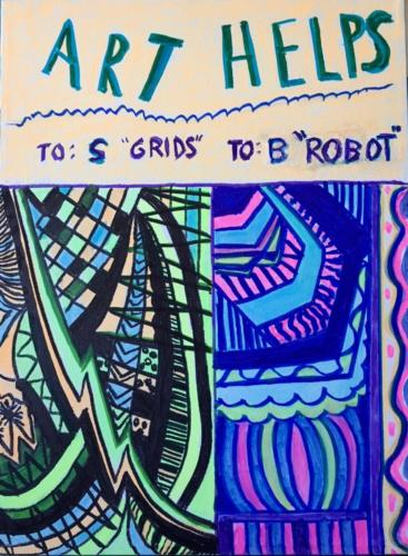Art Helps Us To Talk -1 — gladys lipton