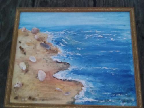 Seascape, shells — Bridgett Bailey