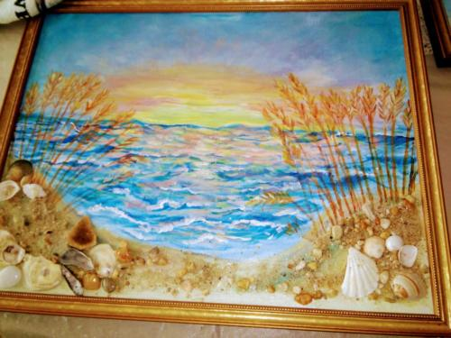 Sea shore sunset — Bridgett Bailey