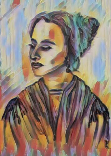 Portrait of a Lady — Helaine Sawilowsky