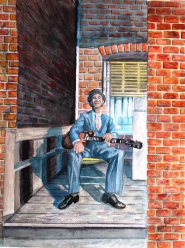 Back Stoop Blues — Benjamin Jackson