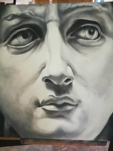 Michelangelo's David — Lynn Downey