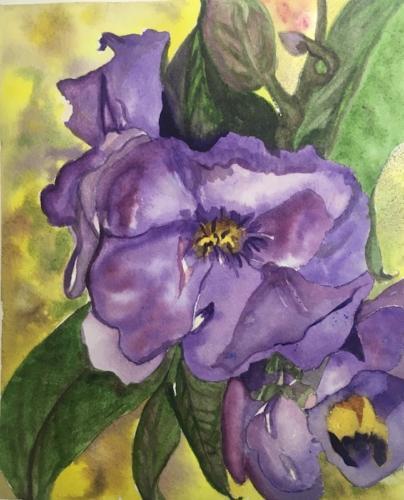 Flor roxa — Terry Holman