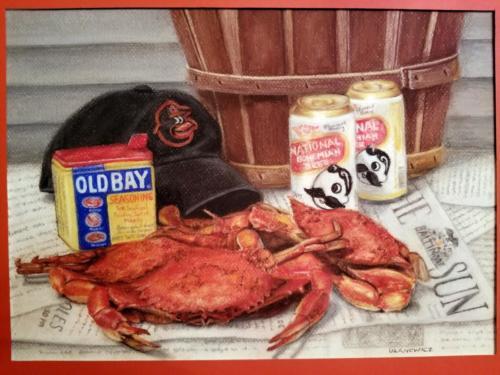 Crabs, O's, and Natty Bohs — Diana Ulanowicz