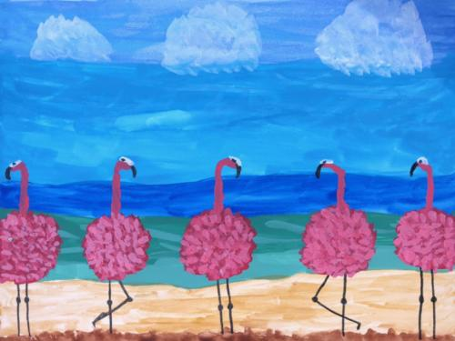Five pink ladies — Judy Porter